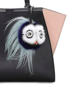 Fendi Bird Mohawk Monster Charm