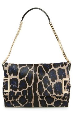 Jimmy Choo 'Ally' Genuine Calf Hair Shoulder Bag available at #Nordstrom