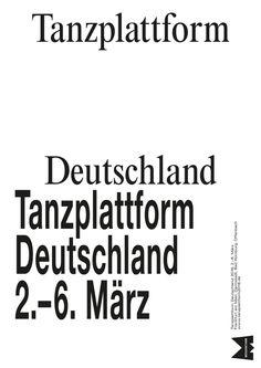 Dance Platform 2016 poster