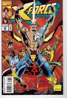 22 Best Comic Covers: X FORCE images | X force, Comic covers
