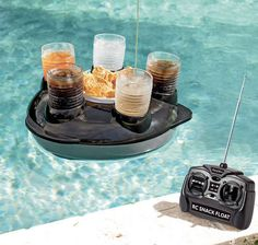 Remote Control Snack Float | 30 Things You Had No Idea You Needed
