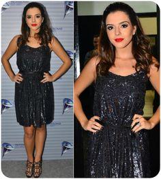 Giovanna Lancellotti Emanuelle Araújo x Giovanna Lancellotti: Quem ficou melhor com o vestido de brilho?