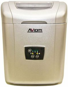 Aviditi ZB-10 Small Table Top Ice Maker with Soft Touch Controls by Aviditi. $213.65. This ice machine is easy to use and fully automatic. It makes ice in approximately 8 minutes after being plugged in, and it can make up to 22 pounds of ice a day. Featuring soft touch controls, a plastic cabinet and 130 watts of power this ice machine not only looks good but it's extremely easy to use. It stores up to 1.8 pounds of ice, and can make three different sized ice cubes....
