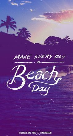 Make Every Day a Beach Day . /// @urbandecay and @peektravel