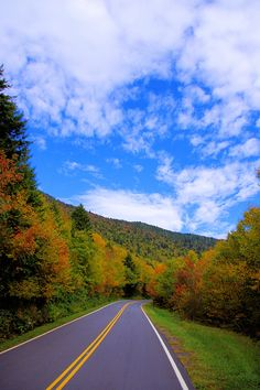 Mt Mitchell State Park NC with fall color in early October