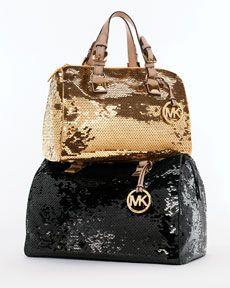 Sequins + purse + Michael Kors = Love.
