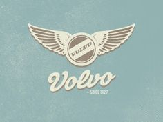 Early Volvo logo #FemmeFrontaal