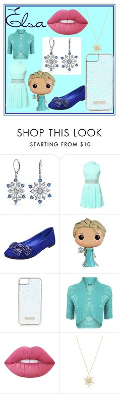 """Elsa"" by jmclarty ❤ liked on Polyvore featuring Bling Jewelry, WithChic, Disney, Skinnydip, WearAll, Lime Crime, Vince Camuto, disney, frozen and elsa"