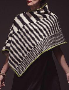 Knitting Pattern for Escher Poncho