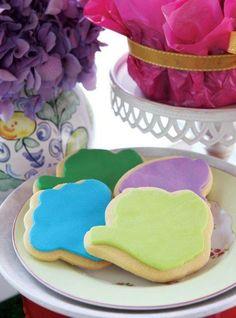 Teacup Easter biscuits - Belle's Patisserie Easter Biscuits, Easter 2014, Teacup, Sugar, Cookies, Desserts, Food, Crack Crackers, Postres