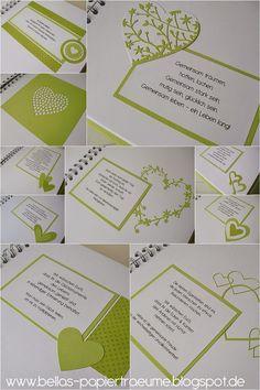 Lieblingsrezeptbuch . . . Hochzeit °11
