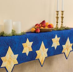 Martingale - Celebrate Christmas with That Patchwork Place (Print version + eBoo Diy Hanukkah, Hanukkah Decorations, Happy Hanukkah, Advent, Jewish Celebrations, Hanukkah Traditions, Jewish Crafts, Geek Decor, Quilted Table Runners