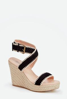 0b393b7ac35b Getting dressed is more fun with these outfit-making espadrilles. They come  with a