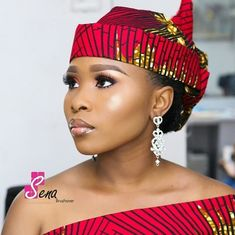 You would see that there are so many styles in this look-book; we are trying to show the different yet latest 2018 Gele styles that you would be inspired by African Print Dresses, African Fashion Dresses, African Dress, African Hats, African Wear, Mode Turban, Head Scarf Styles, African Head Wraps, African Traditional Dresses