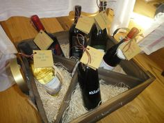 Amazing bridal shower gift - wine for every special occasion with your husband-to-be! via www.weddingsandwellies.com/blog