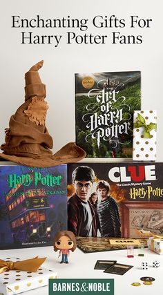 Discover books, collectibles, and more magical finds for all the Harry Potter fans on your list. Visit BarnesAndNoble.com today and start shopping