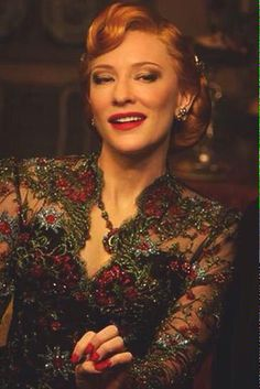 "#CateBlanchett in Cinderella, 2015. ""Isn´t the modern world is fool of evil step mothers and sisters ?"" K.Branagh"