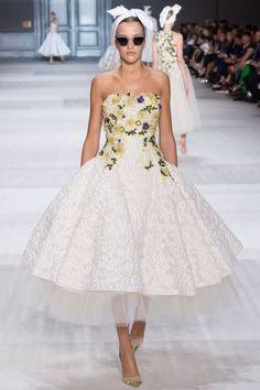 Paulina King - Giambattista Valli couture Fall 2014