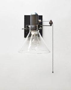 Wall Sconce pull chain fixture