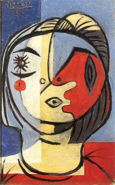 Pablo Picasso - Tête, 1926.