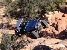 Obstacles of Moab: Jeep Buggy