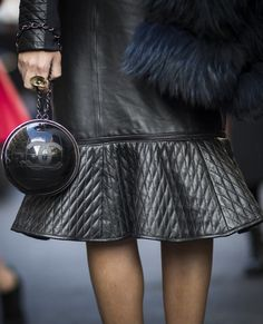 The perfect Chanel bag at PFW.