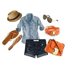 Perfect outfit to roam the town in Jamaica!