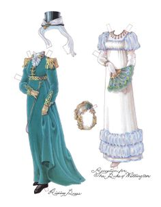 A Regency Lady of Quality | Gabi's Paper Dolls