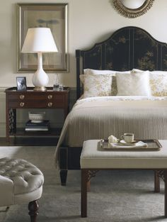 Venetian Bed (painted chinoiserie) | Baker Furniture