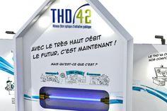 3D du stand THD42