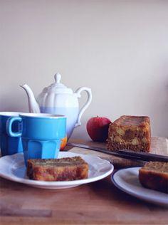 petiscosemiminhos: Bolo de maçã e canela/ apple and cinnamon cake