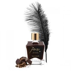 If you're looking for erotic items at a good price, discover Poeme Dark Chocolate Bijoux Indiscrets 122 ! Capacity: 50 ml Includes: Feather Flavour: Chocolate Chocolate, Sexy Gifts, Wild Strawberries, Massage Oil, Kakao, Glass Jars, Body Painting, Cocoa, Perfume Bottles