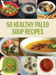 I love this list of 50 Paleo Soup Recipes. Soup is a good way to get vegetables in my diet and not miss the carbs and I love the big images in this post so I can easily see what looks goods.