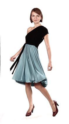 Knielange Kleider - NARA ® Tanzkleid /Infinity Dress/All in One Dress - ein Designerstück von Berlinerfashion bei DaWanda