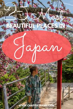Check out these 25 Most Beautiful Places in Japan with both popular and more off the beaten track destinations. It's perfect for planning your itinerary to Japan! #Japan #BestofJapan