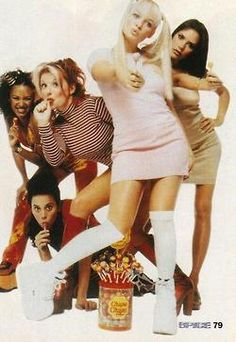 Spice Girls pops! We were obsessed with these!