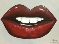 """Cynthia R. """"Arte, don y pasión"""": Botox. Pintura acrílica 12"""" x 16"""""""