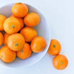 Oranges in a White Bowl by DesignbyRita on Etsy, $15.00