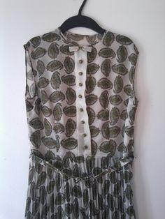 transparentes Kleid, (Detail)