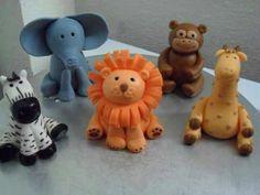 Fondant Animals