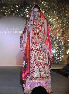 Simply exquisite: Abu Jani-Sandeep Khosla's bridal creations - Rediff Getahead