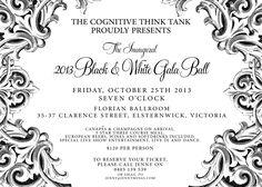 ideas for gala dinner | ... Ideas on Pinterest | Gala Invitation, 50th Anniversary and Gala Dinner