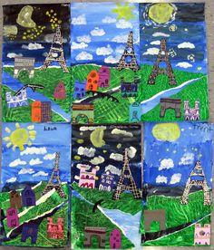 Cassie Stephens: In the Art Room: Collage Paris
