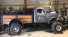 Our unusual #CoolCarFind this Friday is a 1953 #Dodge #Powerwagon perfect for pulling! | RacingJunk.com