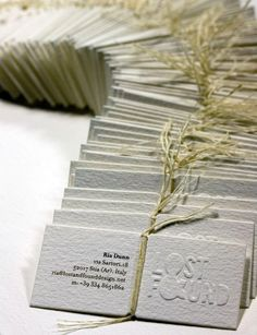 Unique Business Card Design on the Internet, Lost & Found #businesscards #namecards #printdesign
