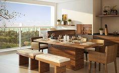 Seguindo algumas Ideias para Decoração de Varandas gourmet é possível criar um ambiente aconchegante e estiloso, seguindo suas características.