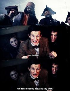 Doctor Who...he looks so disappointed