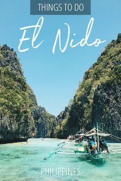 20 of the best things to do in El Nido Palawan Philippines in From island hopping to surfing kiteboarding snorkeling and more. Voyage Philippines, Les Philippines, Philippines Travel Guide, Phillipines Travel, Mauritius Travel, El Nido Palawan, Palawan Tour, Cool Places To Visit, Places To Travel