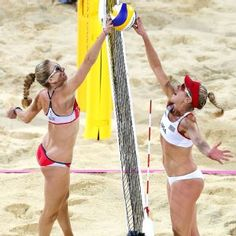 Kerri Walsh Jennings and April Ross, formerly rivals for the past decade, have now teamed up to form the newest power tandem in the sport. After breezing through their first domestic tournament after only 5 practices, the duo took to Brazil where they won their first international FIVB event together.  Check them out talk about the beginnings of their partnership: http://espn.go.com/espnw/news-commentary/article/9748418/espnw-kerri-walsh-jennings-april-ross-journey-2016-rio-games