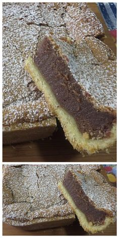 Crostata panna e cioccolato, una vera golosità! #crostata #panna #cioccolato #ricettegustose